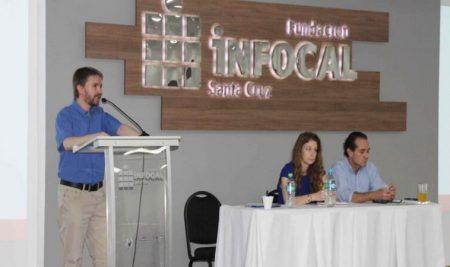 INFOCAL y la cámara de comercio e industria boliviano alemana presentaron el proyecto de sistema de educación dual