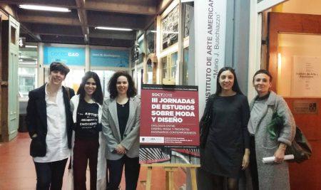 Docente de diseño de modas, Tannya Villalvazo fue seleccionada por la UBA para debatir sobre reflexiones académicas del diseño de modas